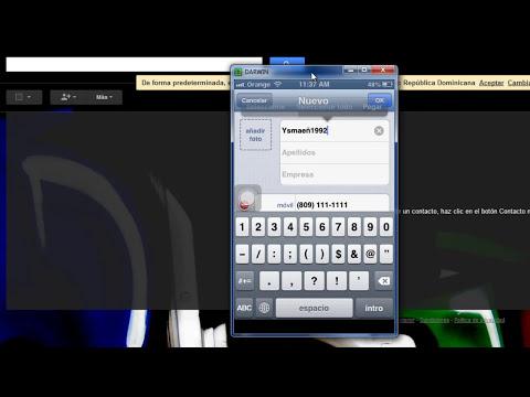 iPhone: Sincroniza tu cuenta de gmail para guardar contactos