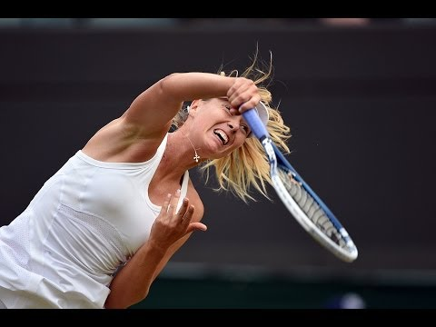 Highlights Day 4: Sharapova cruises past Bacsinszky - Wimbledon 2014