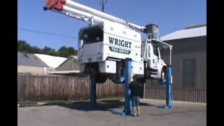Atlas Mobile Column Lift 36,000 lb