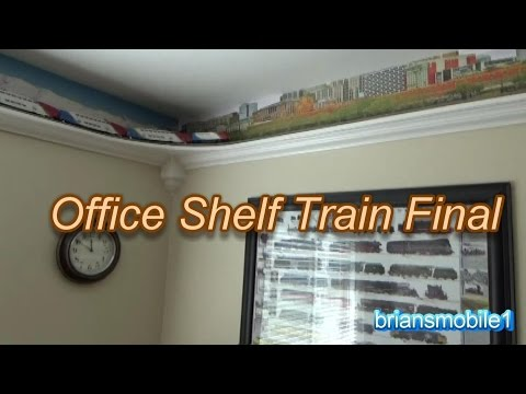 CLASSY Office Shelf Train Final before MOVING!