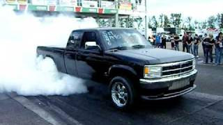 dodge dakota cummins burnout