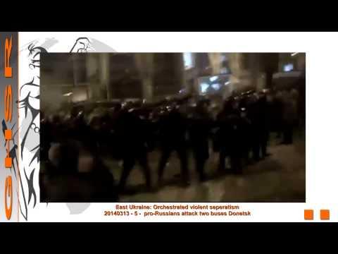 Crimea Crisis: Violence in Donetsk & instigator identified