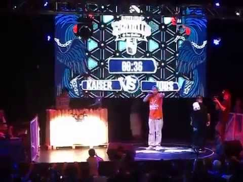 Kaiser vs Jops - Cuartos - Red Bull Batalla De Los Gallos Chile 2014