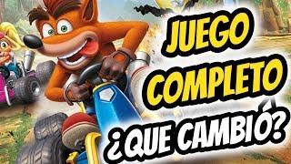 Crash Team Racing Nitro-Fueled | JUEGO COMPLETO | ¿QUE CAMBIÓ?