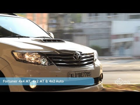 2012 Toyota Fortuner 4x2 Automatic review by iflythis team