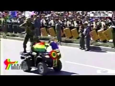 Parada militar - Bolivia 2014 aniversario de las FF. AA Parte2