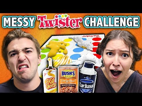 EXTREME MESSY TWISTER CHALLENGE! (ft. React Cast) | Challenge Chalice