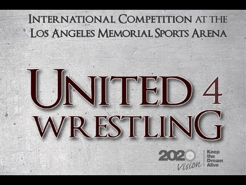 66 kg Jordan Oliver vs Haislan Garcia - United 4 Wrestling - Beat the Streets Los Angeles 2013