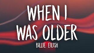 Billie Eilish When I Was Older