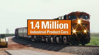 BNSF FREIGHT TRAINS (with 7102 P5 HORN !!!)