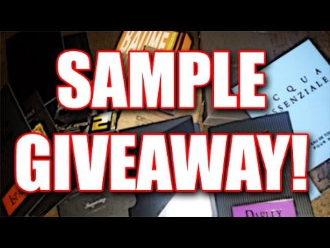 Sample Giveaway! Please Watch!