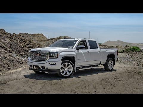 2016 GMC Sierra Denali - White Frost