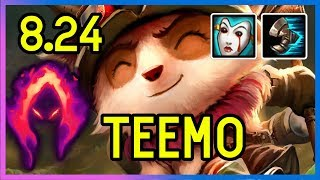 8.24 DARK HARVEST TEEMO SUPPORT - DIAMOND - League of Legends