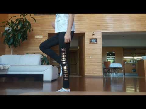 Как танцевать Shuffle dance ||| Lera Kuper
