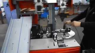 OTOMATIK KABLO SARMA MAKINASI - WIRE BINDING MACHINE