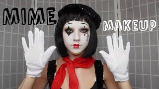Misunderstood Mime | Halloween Tutorial ♡