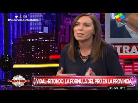 Vidal vuelve a marcar diferencias con el massismo