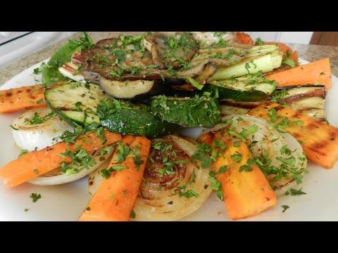 Как приготовить овощи на сковороде - видео