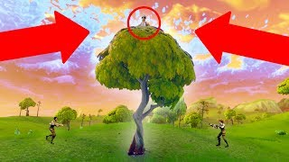 THE TREE OF DEATH! *SO MANY SNIPES!* | Fortnite Battle Royale