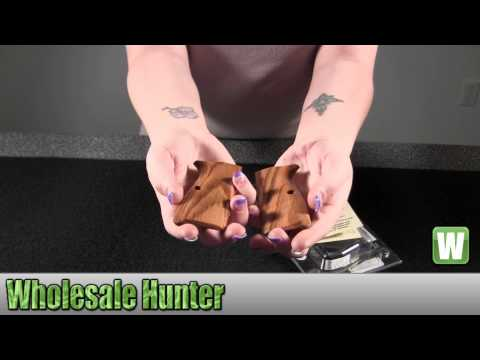Hogue Wood Grip Goncalo Alves 09210 Grips Firearm Accessories Unboxing