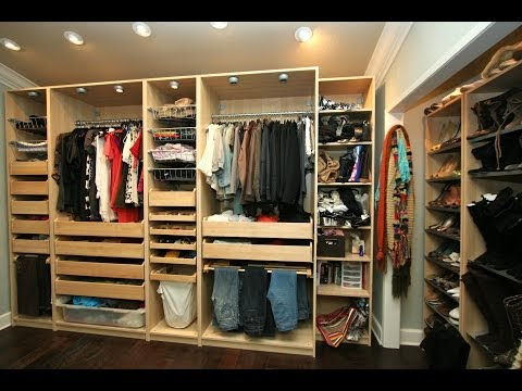 0 Interior Design  Room Tour of Fashion Closet and Bedroom HD