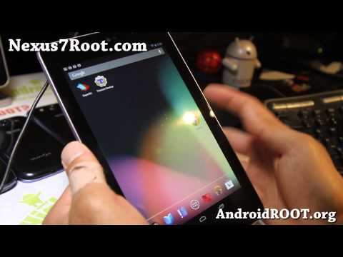 Android 4.2 ROM + Root for Nexus 7!
