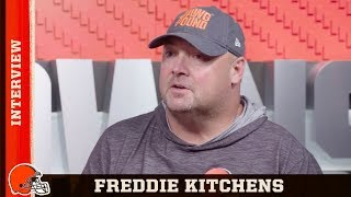 Freddie Kitchens Preps For Jets In Week 2 - Exclusive Interview | Browns Countdown