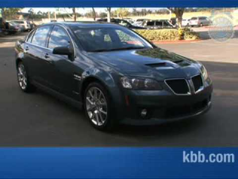 Pontiac G8 GXP Interview Video - Kelley Blue Book