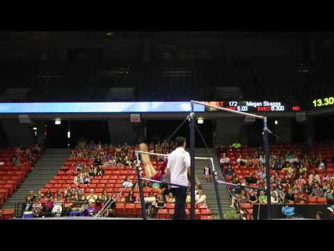 Polina Shchennikova - Uneven Bars - 2012 Secret U.S. Classic