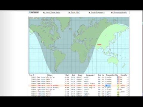 All India Radio New Delhi (Hindi) 9.380 MHz Shortwave - Perseus SDR + Wellbrook