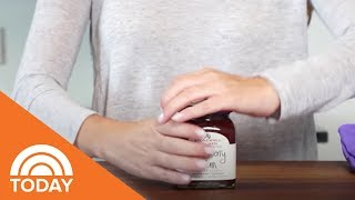 How To Open A Tight Jar Lid   TODAY