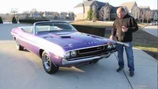 1970 Dodge Challenger Convertible Plum Crazy Classic Muscle Car for Sale in MI Vanguard Motor Sales