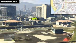 GTA V - All 50 Monster Stunts Location/Fundorte aller 50 Monster Stunts (GTA 5 Guide)