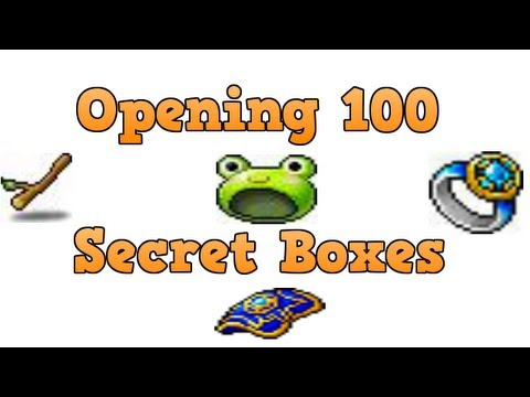 Maplestory Opening 100 Secret Boxes
