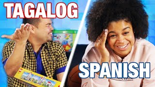 Strangers Try Building A Lego Set While Speaking Different Languages