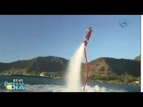 Flyboard Zapata Revolución el deporte acuático