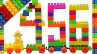 Kids Learn Numbers with Building Blocks   Building 4, 5, 6 with Colorful Building Blocks for Kids