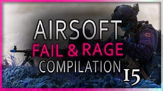 Airsoft Fail & Rage Compilation Nr. 15 (Learn from mistakes)