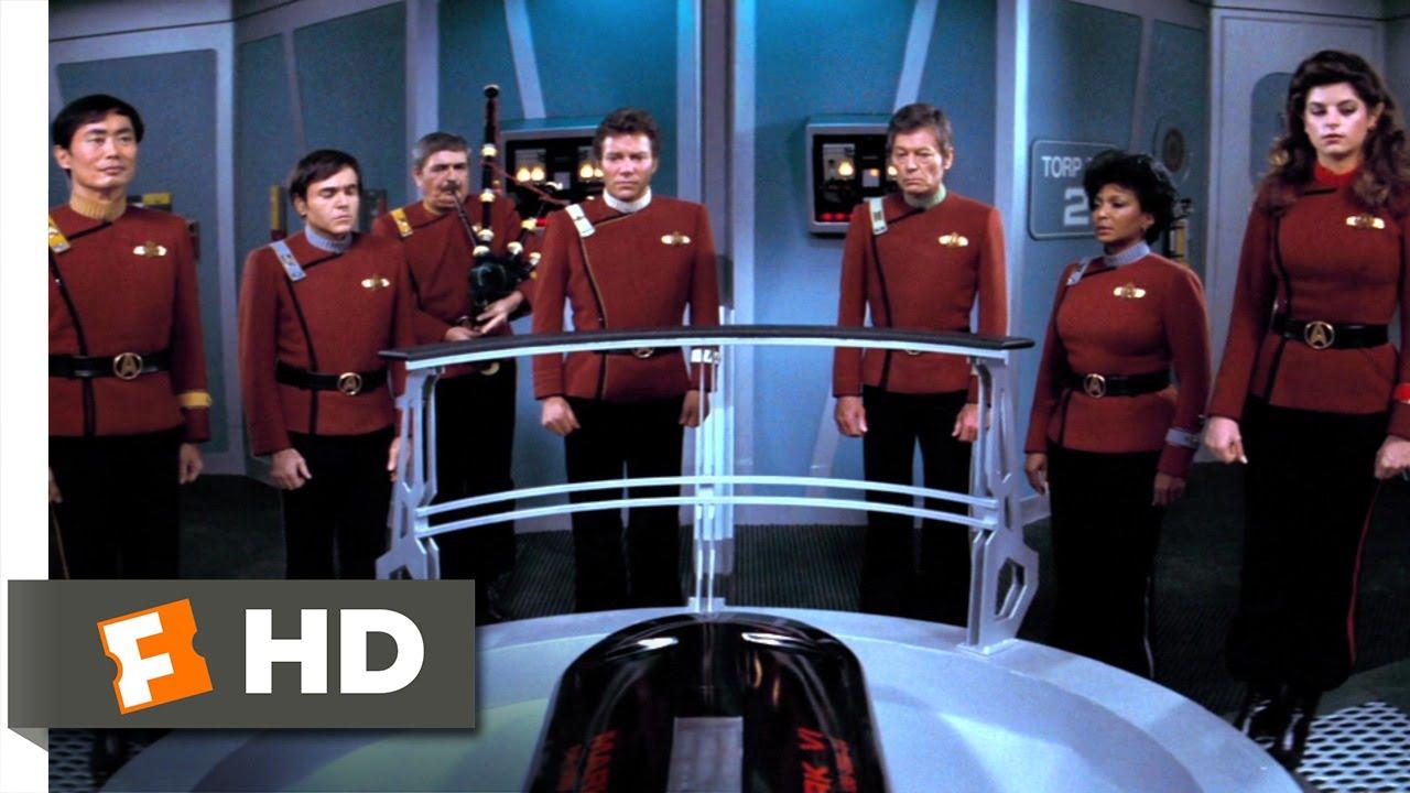 Spock's Funeral - Star Trek: The Wrath of Khan (7/8) Movie
