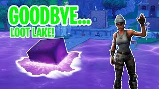 Fortnite Epic and WTF Moments - THE CUBE MELTS, LOOT LAKE HAS EVOLVE #02