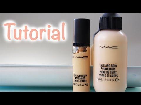 Review y Aplicación: Face & Body y Prolongwear de MAC
