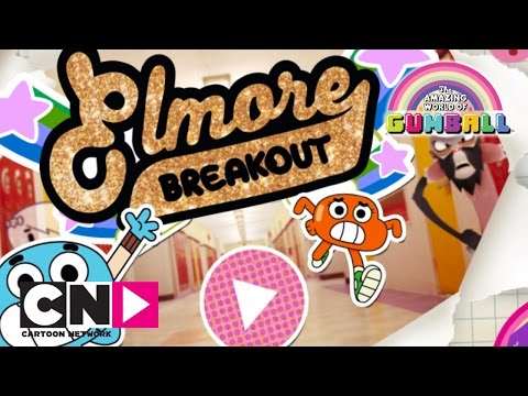 The Amazing World of Gumball | Elmore Breakout Playthrough | Cartoon Network