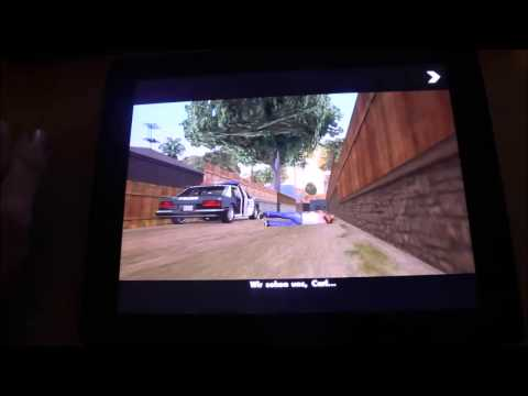 App Review: Grand Theft Auto San Andreas iOS-Version Deutsch/German Teil 1