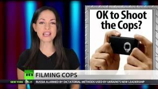Cop, tells woman it's a felony to film him, jails   2/25/14