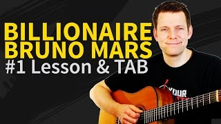 Guitar Lesson: How to Play Billionaire - Bruno Mars / Travie McCoy - Acoustic Guitar Tutorial