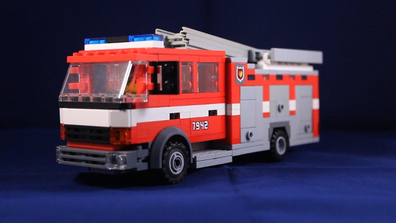 Lego Fire Trucks in Action Lego Fire Truck