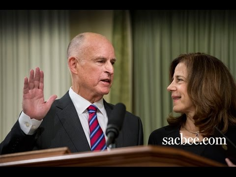 Gov. Jerry Brown inauguration