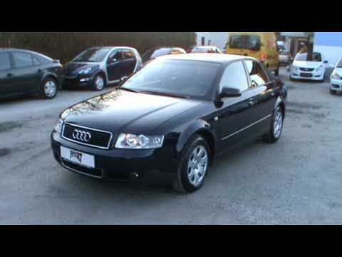 2004 Audi A4 1.9 TDI limo. Review.Start Up. Engine. and In Depth Tour
