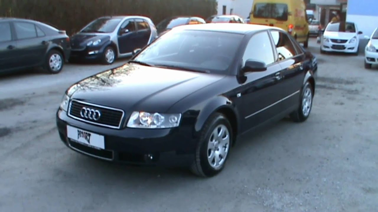 2004 Audi A4 1 9 Tdi Limo Review Start Up Engine And In