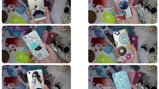 Мои чехлы для IPHONE 5S с Aliexpress|Сases Iphone 5s  Aliexpress|Sweetysweet Mari